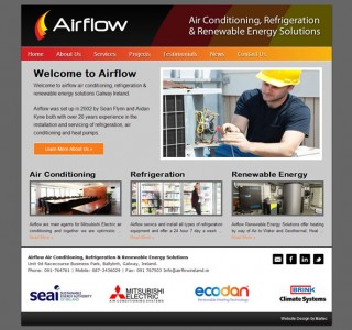 AirFlow Galway Web Site Design
