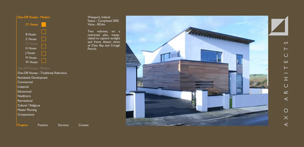 Axo Architects Website