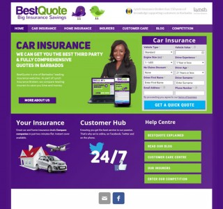 Best Quote Insurance Savings Website Development