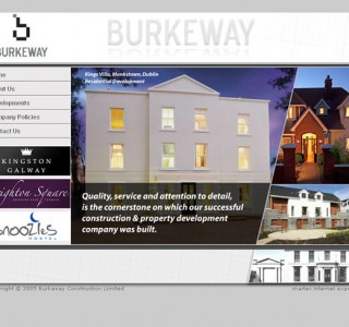Burkeway Construction Galway Web Site Design