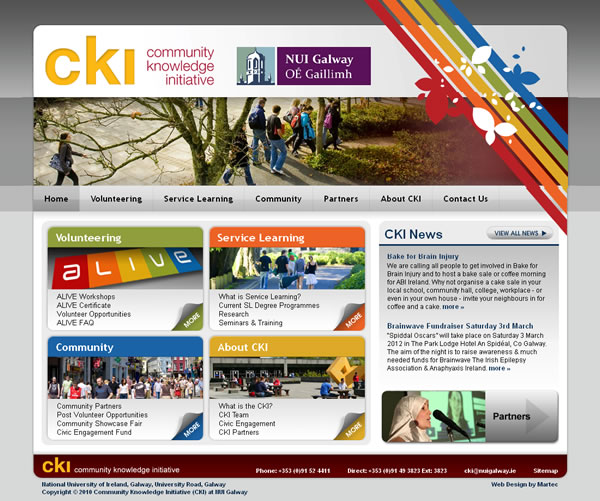 CKI Website National University of Ireland, Galway