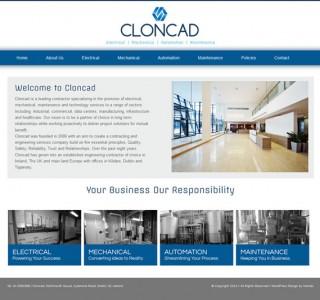 Cloncad Logo Design and Website Design Ireland