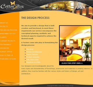 Cotton Box Design Galway Web Site Development