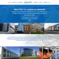 Curran Aluminium Construction Web Design Ireland