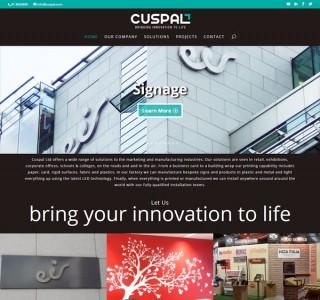 Cuspal Portfolio Web Design Ireland