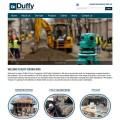 Duffy Contractors Website Design Westmeath