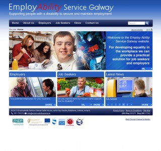 Employability Service Galway Web Design