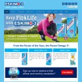 Eskimo 3 Fish Oils Website Design Ireland