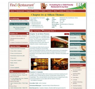 Find a Restaurant Logo & Website Design
