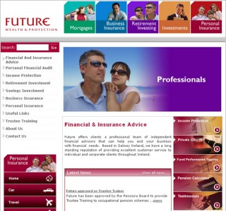Future Galway Logo Design and Website Design