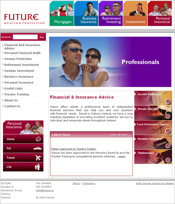 Future Galway Logo Design and Website Design