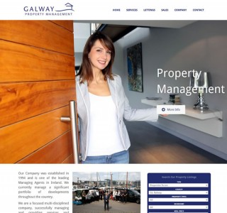Galway Property Responsive Website Design
