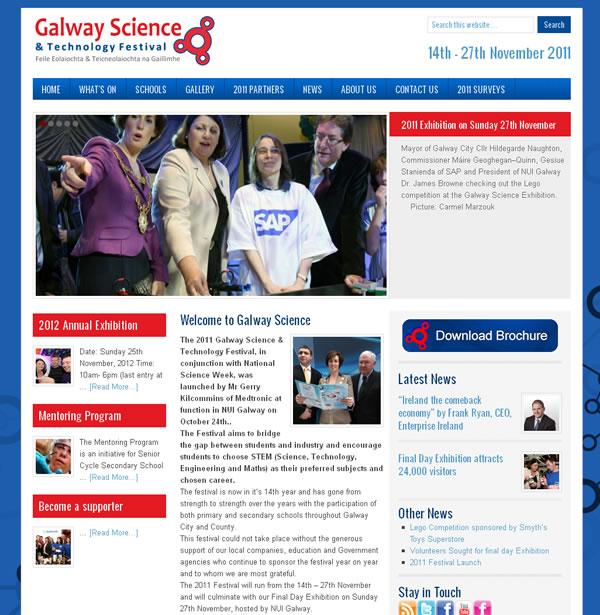 Galway Science website