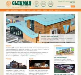 Glenman web site