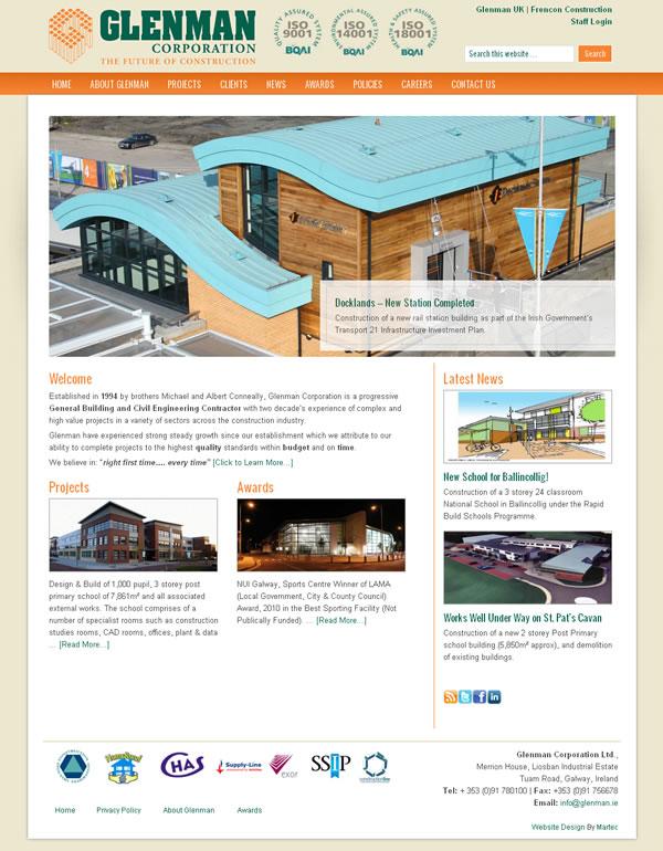 Glenman web site