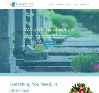 GraveCare Galway Web Design & Logo Design