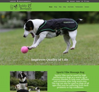 Jeddy & Scrappy Galway Logo & Website Design