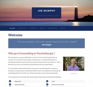 Joe Murphy Counselling and Psychotherapy – Galway