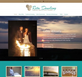 Logo & Website for Rita Dowling Traditional Healer