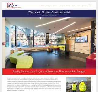 Monami Construction Ireland   Building Contractors Ireland