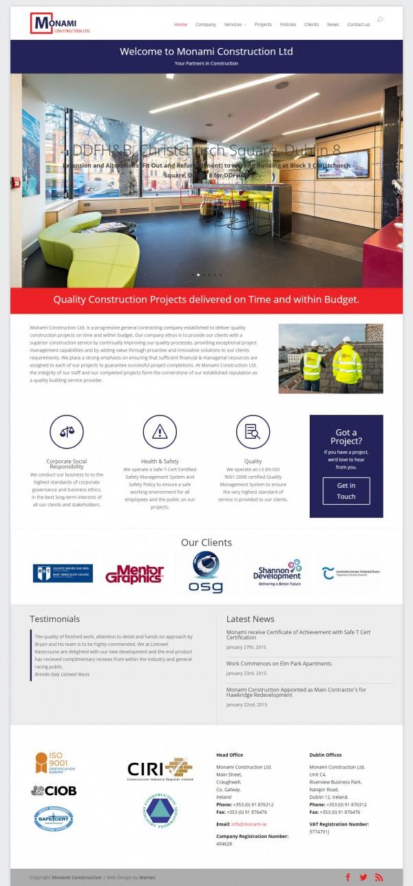 Monami Construction Ireland   Building Contractors Ireland