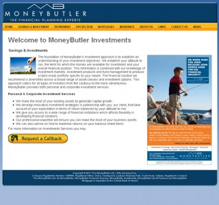 MoneyButler Galway Website Design
