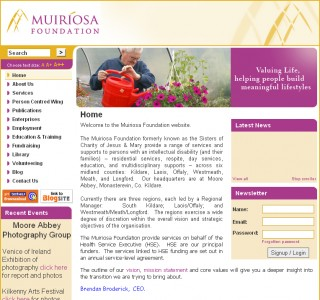 Muiriosa Logo Design and Website