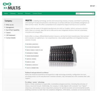 Multis Group Galway Website Design