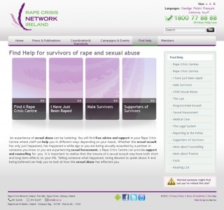 RCNI Ireland Website Design