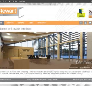 Stewart Interiors Galway - Responsive Web Design
