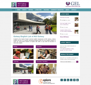 The Galway English Lab — Logo & Website Design Galway