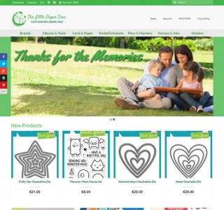 The Little Paper Tree Logo & Ecommerce Web Design Galway