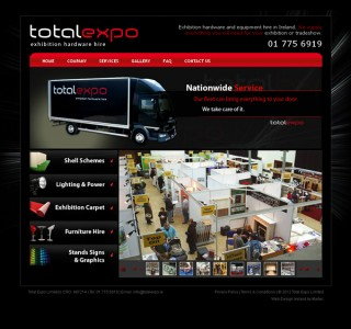 Total Expo Galway Website Designers