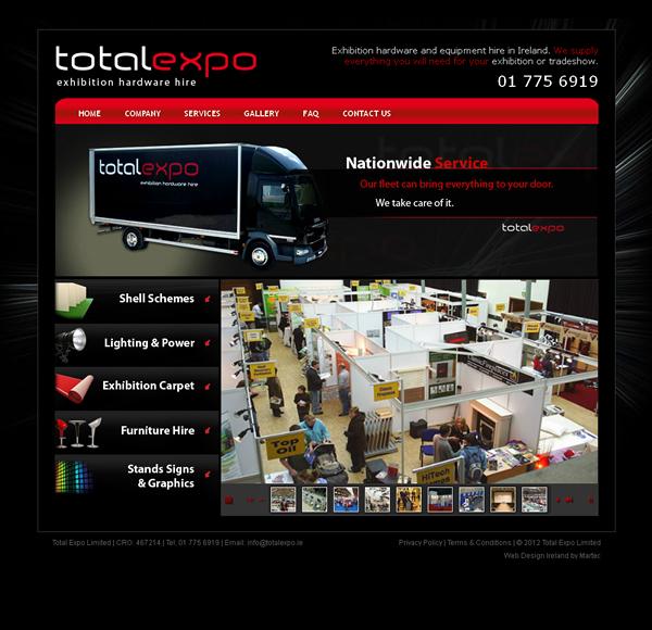 Total Expo Galway Website Designers