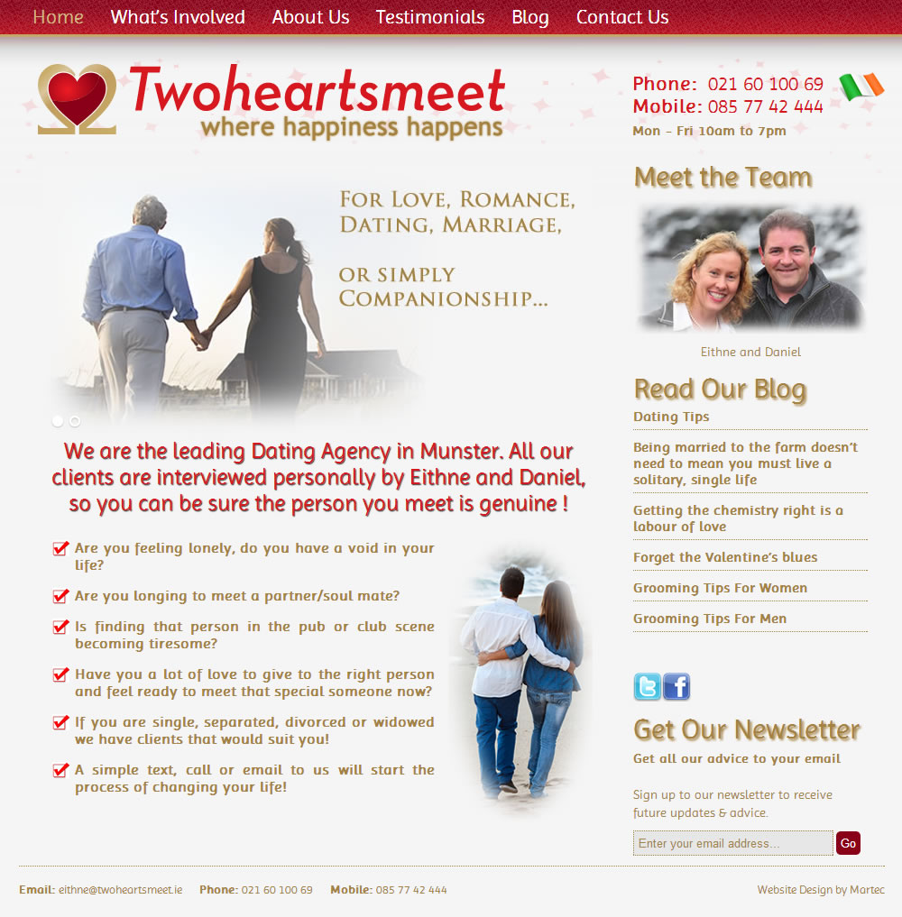 agency dating matchmaking site Tired of online dating at tawkify, our human matchmakers will help you find love it's private, affordable, and time-saving.