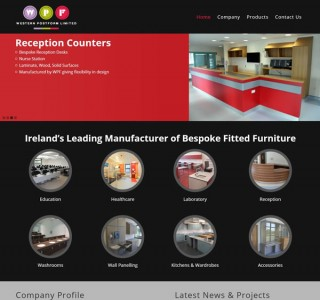 Western Post Form – Furniture Website Design Ireland