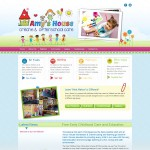 Amys House Galway Creche Logo & Website Design