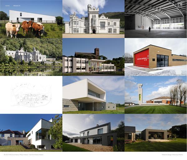 Axo Architects Web Design Mayo