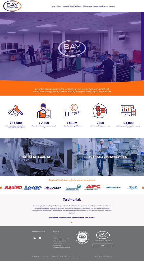 Bay Enterprises Web Design Limerick