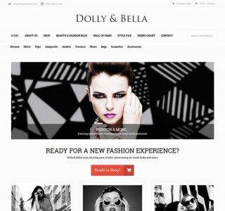 Dolly & Bella Dublin Ecommerce Website & Logo