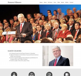 Eamon Gilmore Responsive Website Design