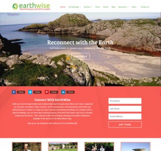 Earthwise Logo & Web Site Design Ireland