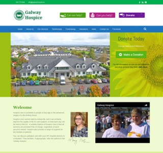 Galway Hospice Responsive Website Design