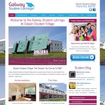 Galway Student Lettings Logo & Website Design