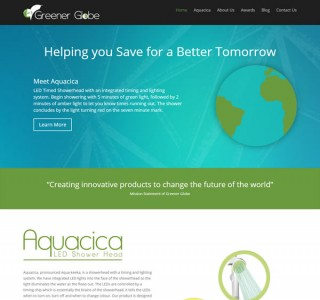 Greener Globe Ireland Website Design