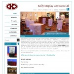 Kelly Display Website Design Galway