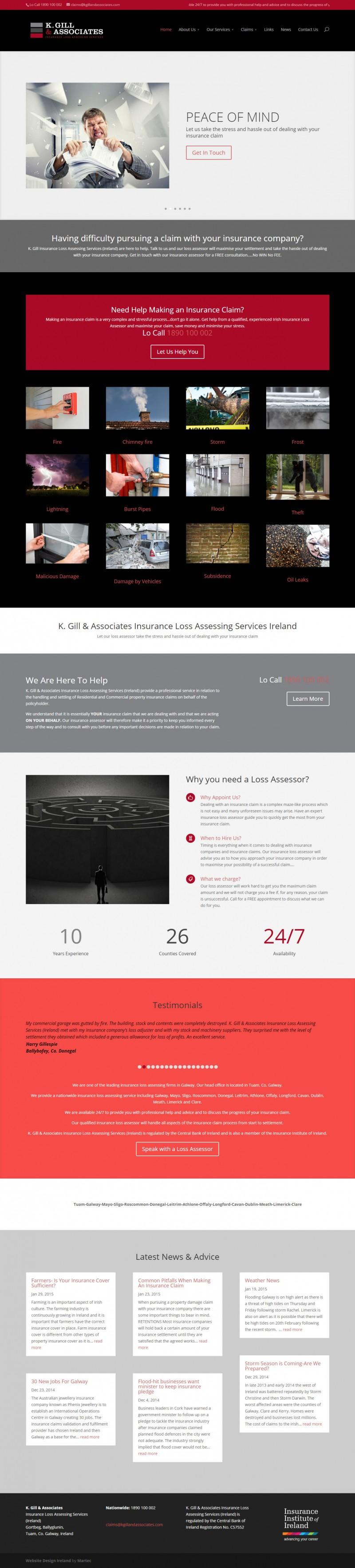 Loss Assessors Ireland   Kim Gill   Associates – Loss Assessors Ireland