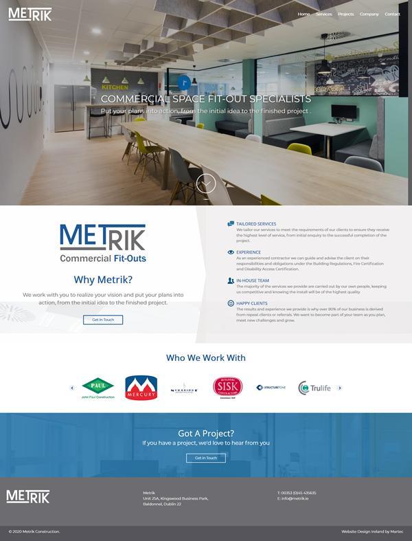 Metrik Web Design Dublin