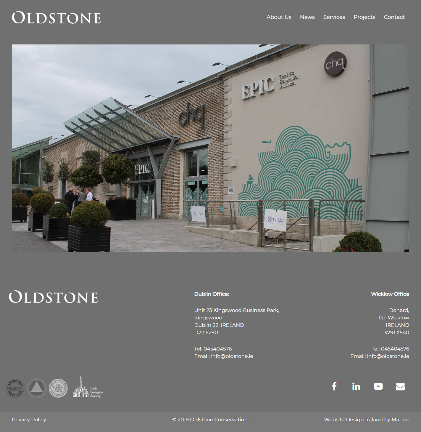 Oldstone Conservation – Conservation Structural Repair
