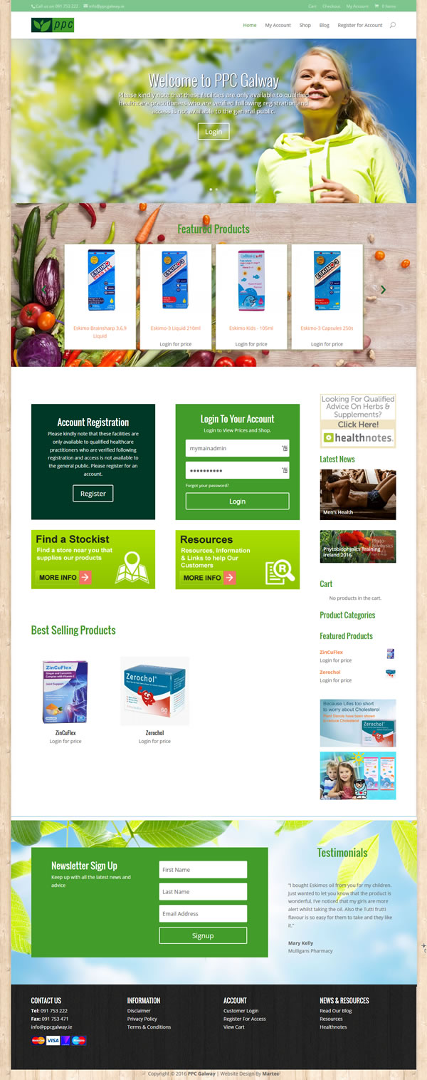 PPC Galway Ecommerce Website Design